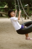 Girl playing on swing - Alex Microstock02