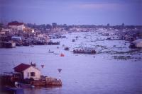 Vietnam, Mekong River, Chau Doc along Bassac River. - Steve Raymer