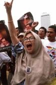 Malaysia, Kuala Lumpur, anti-government protest. - Steve Raymer