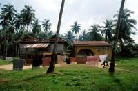 Malaysia, Kelantan State, Kota Bahru, bungalow home reflecting uniform economic development in Malaysia. - Steve Raymer