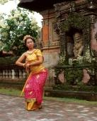 Indonesia, Bali, Balinese dancer - Jack Hollingsworth
