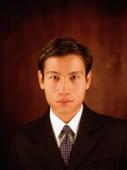 Male executive, portrait - Eric Ceret