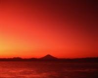 Japan, View of Mount Fuji at dusk - Rex Butcher