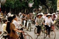 Vietnam, Hanoi, Traffic on streets - Gareth Jones