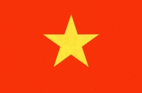 Vietnam, Saigon, Vietnamese flag - Gareth Jones