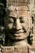 Cambodia, Angkor Thom, the face of Avalokitecvera - Gareth Jones