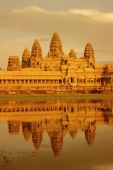 Cambodia, Angkor Wat by day with reflection - Gareth Jones