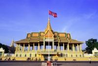 Cambodia, Phnom Penh, Chan Chaya Pavilion, Royal Palace - Gareth Jones