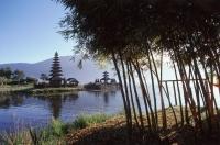 Indonesia, Bali, Bedugal, Lake Bratan, Pura Ulun Danau Water Temple - Jill Gocher