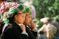 Vietnam, North Bac Ha Tribal girls - Jill Gocher