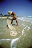 Vietnam- Vung Tau, man fishing - Jill Gocher