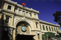 Vietnam, Ho Chi Minh City, post office - Jill Gocher