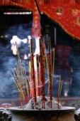 Vietnam, incense in a temple - Jill Gocher
