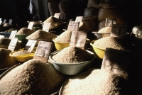 Vietnam, Mekong Delta, rice for sale - Jill Gocher