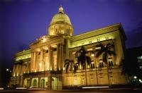 Singapore, Supreme Court Building by night - Jill Gocher