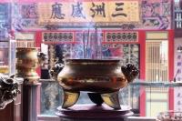 Malaysia, Penang, temple urn - Jill Gocher