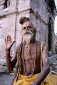 Nepal, Pashupatinath temple, sadhu - Jill Gocher