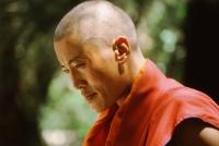 China, Szechuan (Sichuan), Kham region, Sera Monastery, Monk. - Jill Gocher