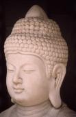 Hong Kong, Buddha sculpture. - James Marshall