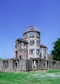 Japan, Hiroshima, Peace Memorial Park, Genbaku (Atom-Bomb dome) a UNESCO World Heritage site - Rex Butcher