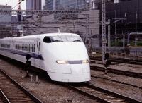 Japan, Tokyo, Shinkansen (bullet train) arriving at Tokyo Station - Rex Butcher