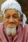 Malaysia, Muslim elder, portrait. - Steve Raymer