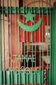 Singapore, entrance to Jamae Mosque. - Steve Raymer