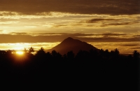 Indonesia, Sumatra, sunrise. - Steve Raymer