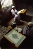 Myanmar (Burma), Yangon (Rangoon), Students studying at a Muslim school. - Steve Raymer