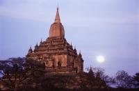 Myanmar (Burma), Temple in Bagan - John McDermott