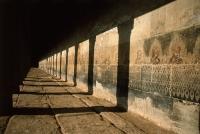 Cambodia, Siem Reap, Hallway in Temples of Angkor - John McDermott