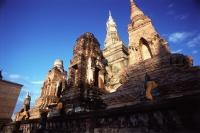 Thailand, Buddhist temple in Sukothai - John McDermott