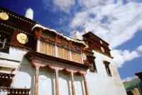 China, Szechuan (Sichuan), Kham region, Tibetan Buddhist Monastery. - Jill Gocher