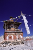 Nepal, Mustang, Chortens mark boundaries between neighboring districts. - Jill Gocher