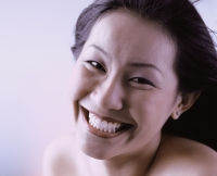 Woman smiling. - Erik Soh