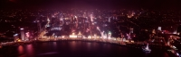 China, Shanghai, aerial view at night - Alex Mares-Manton