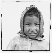 India, Ladakh, Leh, Portrait of young boy. - Mary Grace Long