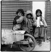 India, Ladakh, Leh, Portrait of young children. - Mary Grace Long