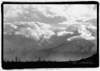 India, Ladakh, Leh, The Himalayas at dusk. - Mary Grace Long