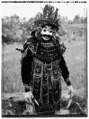 Indonesia, Bali, Ubud, Mask dancer waiting to perform. - Martin Westlake
