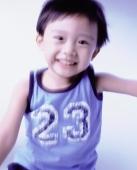 Boy, 3 years old, smiling. - Erik Soh
