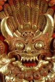 Indonesia, Bali, Gianyar, Cremation ceremony, detail of gamelan instrument. (grainy) - Martin Westlake