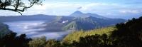 Indonesia, Java, Mount Bromo, Sunrise across Bromo-Semeru caldera from Mount Penanjakken. (grainy) - Martin Westlake