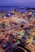 Singapore, port of Singapore - Alex Mares-Manton