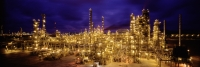 Thailand, refinery, illuminated - Alex Mares-Manton