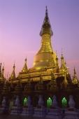 Myanmar (Burma), Bago, Shwemawdaw paya at dusk. - Martin Westlake