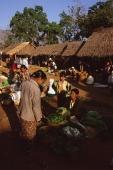 Myanmar (Burma), Inle lake, Vendors and stalls at 5 day market. - Martin Westlake