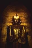 Myanmar (Burma), Bagan, West facing Buddha - Ananda Pahto. - Martin Westlake