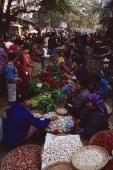 Myanmar (Burma), Sangaing, Morning market. - Martin Westlake
