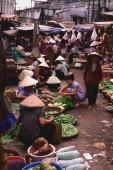 Vietnam, Cai Be, Mekong delta, Traditional market. - Martin Westlake